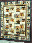 Home sweet primitive home quilt pattern