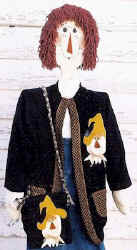Scarecrow jacket and purse pattern