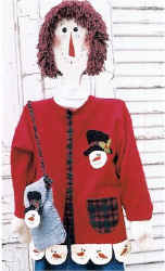 snowman jacket and purse pattern