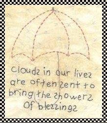 showers of blessings primitive stitchery